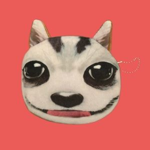 BIG EYED CAT POUCH